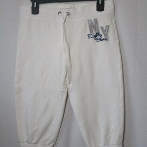 Womens Aeropostdale sweatpants capris